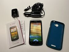 HTC One S - 16GB - Blue Gradient (T-Mobile) Smartphone Works w/ Cracked Screen