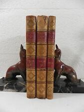 MATHIEU cours Zoologie forestiere & entomologie 52 Planches Grimblot 1847 relié