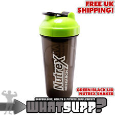 NUTREX SHAKER - BLACK WITH GREEN LID (700ML) | Bodybuilding Gym Protein Drink