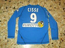 Maillot porté shirt worn ancien Djibril CISSE  N° 9  AJ AUXERRE AJA   2003-2004
