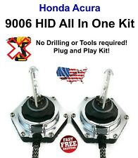 9006 All In One Xenon HID Kit 6000K PNP Bolt On Integrated Ballast Acura Honda