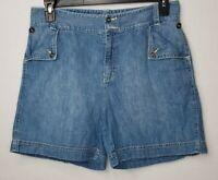 Lauren Jeans Co Ralph Lauren Womens Denim Shorts Size 10