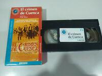 El Crimen de Cuenca Pilar Miro - Pelicula VHS Castellano