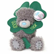 "Me to You 5"" Four Leaf Clover Good Luck Plush Lucky Charm - Tatty Teddy Bear"