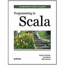 Programming in Scala A Comprehensive Step-by-step Guide By Venners 9780981531601