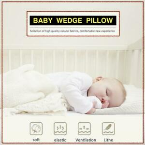 Baby Wedge Pillow For Pram MEMORY FOAM Anti Allergy Washable Breathable Quilted