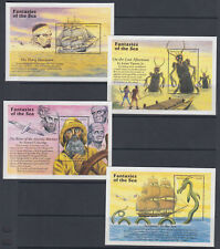 Sierra Leone Sc 1934-1973 MNH. 1996 Fantasies of the Sea, 40 Souvenir Sheet set
