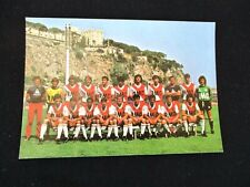 AS MONACO saison 1981-1982 Carte postale cp postcard football photo equipe ASM