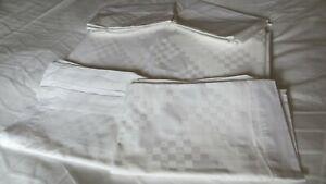 Kelly Hoppen 3 piece White Bed Set King Size