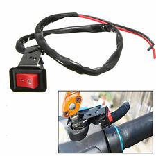 On OFF Kill Switch Scooter Motorcycle ATV Bike Handlebar Hazard Fog Spot Light