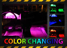 4pc Million Color LED Glow Interior Car Kit Under Seat Footwell Accent Lighting
