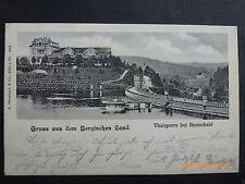 Architektur/Bauwerk Ansichtskarten aus Deutschland mit dem Thema Talsperre
