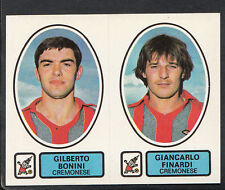 PANINI CALCIATORI FOOTBALL Adesivo 1977-78, N. 433, CREMONESE-Gilberto BONINI