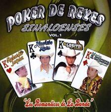 Roberto Tapia,Nachito ruiz,El lobito de Sinaloa,Mario el Cachorro Poker de reyes