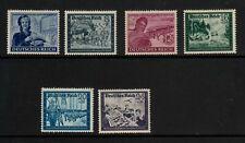 6x Deutsches Reich - Marken - postfrisch - 1944 - ANK 888-893 (462B)