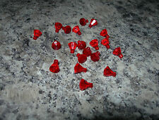 LEGO Minifigure Ruby 25x RED GEMSTONES gem stone accessories jewel FREE COMBINE