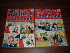 Archie's Joke Book 16-87----lot of 12 comic books