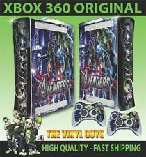 XBOX 360 AVENGERS ASSEMBLE 003 STICKER SKIN COVER & 2 PAD SKINS