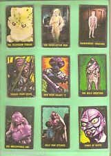 #T12.  SCARCE 1964  SET(50) OF TV MONSTERS OUTER LIMITS CARDS