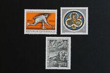 AUTRICHE timbre - Yvert et Tellier n°1341 à 1343 n** stamp Austria (cyn5)