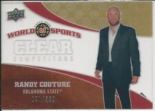 Randy Couture 2010 Upper Deck World Of Sports Clear Competitors Card # CC35 UFC