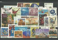 Lot de timbres d'Australie