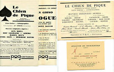 imagerie et éditions du P.Q.G. Joseph Quesnel,Coutances Manche,le Chien de Pique