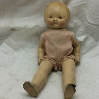 """Vintage Toy 13 1/2"""" Composition Doll by E. I. H. Company Inc."""