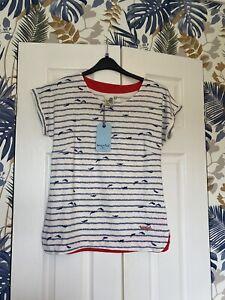 Bnwt's Weird Fish Tee Shirt Size 10