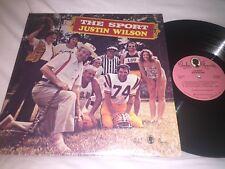 JUSTIN WILSON - THE SPORT - 1974 JEWEL RECORD CORP COMEDY LP