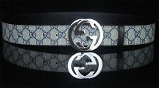 Gucci Belt, GG Monogram Belt, Quality Handmade