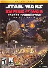 Star Wars: Empire at War - Forces of Corruption (PC, 2006) Complete Expansion