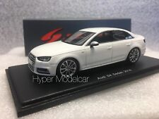Spark 1/43 Audi A4 S4 2016 White Art. S4887