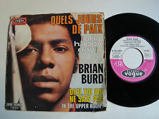 "BRIAN BURD (acc BLACK SABBATH) Quels jours de paix 7"" 45T French VOGUE V 45.1608"