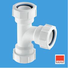 """McAlpine Multifit T Universale per 50mm 2 """"rifiuti di compressione del tubo v15m"""