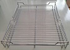 2 x Chrome Baskets Storage Holders Replacement Kitchen Larder Floating Shelves