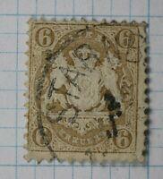 Germany Bavaria sc#25 6kr cv$30.00 used