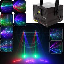 RGB Lasershow mondo DMX 1W 1000mW Laser Fase luce Visualizza animazione ILDA IT
