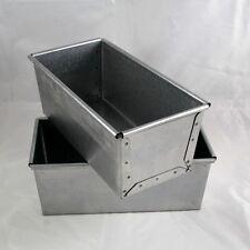 Kastenform, Brotbackform, Stahl aluminiert, 1,0 kg, Industriequalität