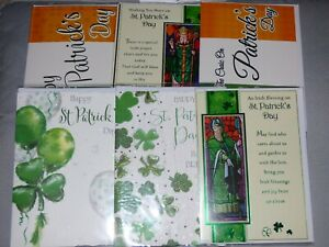 ST PATRICKS DAY CARD HAPPY ST. PATRICK'S DAY GREETING CARD TOP QUALITY CHOICE