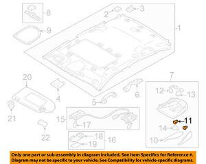 NISSAN OEM Interior-Roof-Map Lamp Bulb 262825L300