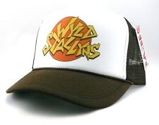 Wyld Stallyns Trucker Hat mesh hat snapback hat brown Bill and Ted movie hat