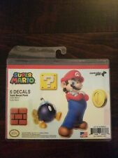 Controller Gear Super Mario - Character Tech Decal Pack - Super Mario - Wii New