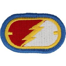 US Army C Troop / 1st Sqdn 38th Cavalry (1-38CAV) airborne wings oval patch