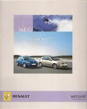 Renault Megane Berlina 3-dr & 5-dr 2007 Italian Market Foldout Sales Brochure