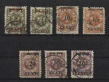 Memel 167-173 gestempelt (B04346)