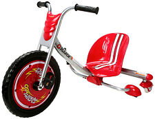 New Razor Flash-Rider 360 Drifting Ride-On Tricycle Bike Trike Kid Gift Fun RED