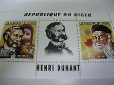 Niger-1996-red cross Henri Dunant Klb- MI.1213-14