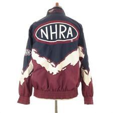 Vintage 90s Mens NHRA Winston Drag Racing Jacket Windbreaker H3 Sportgear Medium