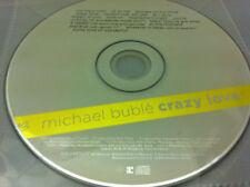MICHAEL BUBLE - Crazy Love (CD 2009) - disque